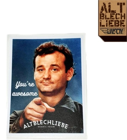 Altblechliebe Sticker - MURRAY