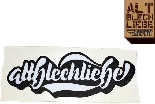 Altblechliebe Logo Sticker